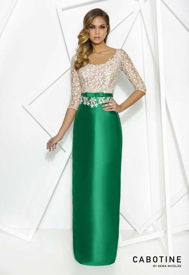 5bb9830bef64 Vestidos de Fiesta Cabotine: Tendencias 2017 | MODA DAMA | Vestidos ...
