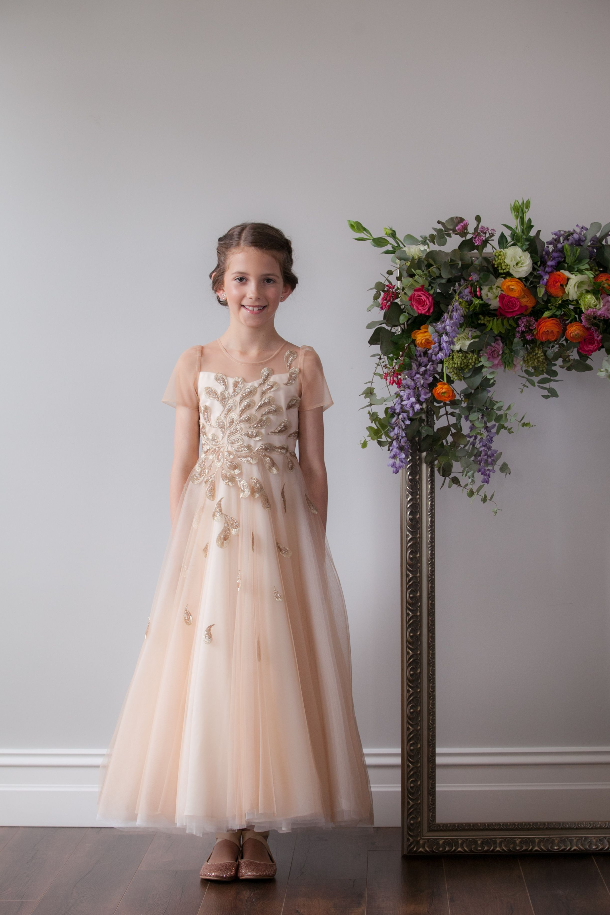 Dress the duchess flower girl dress hire australia