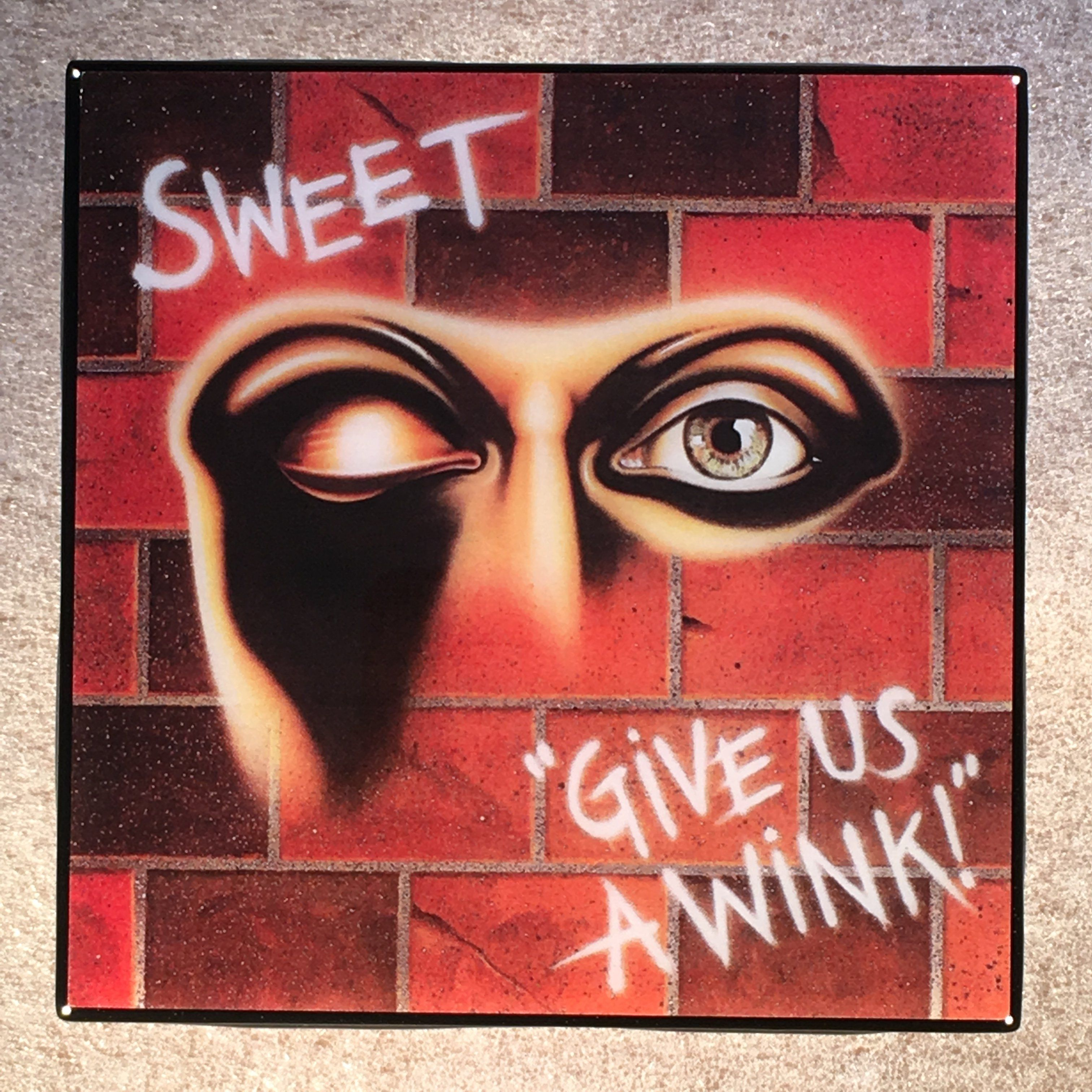 Us ceramic tile products columbialabelsfo sweet give us a wink coaster record cover ceramic tile products dailygadgetfo Gallery