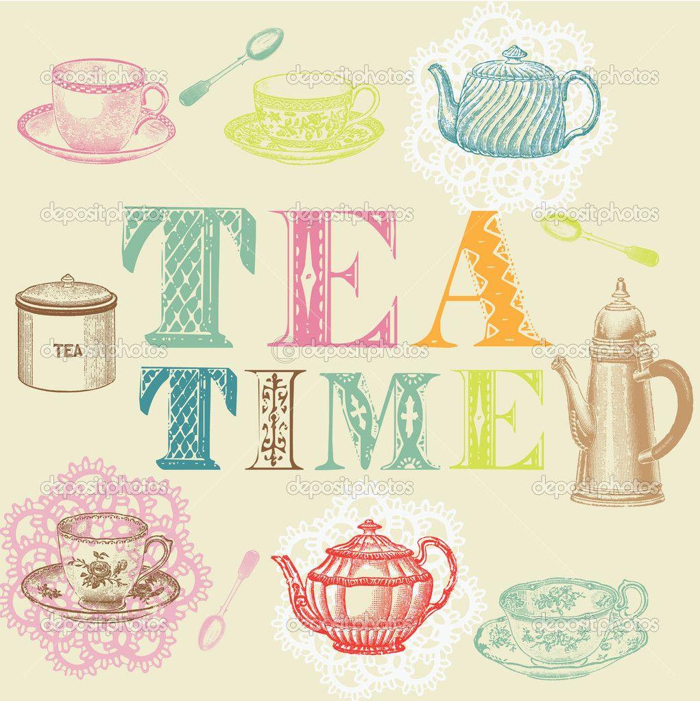 tea party time - photo #45