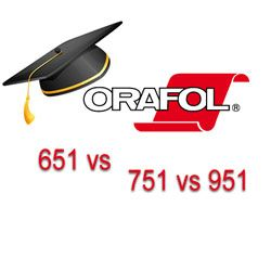Differences between 651, 751, 951 Vinyl | V-I-N-Y-L | Oracal vinyl