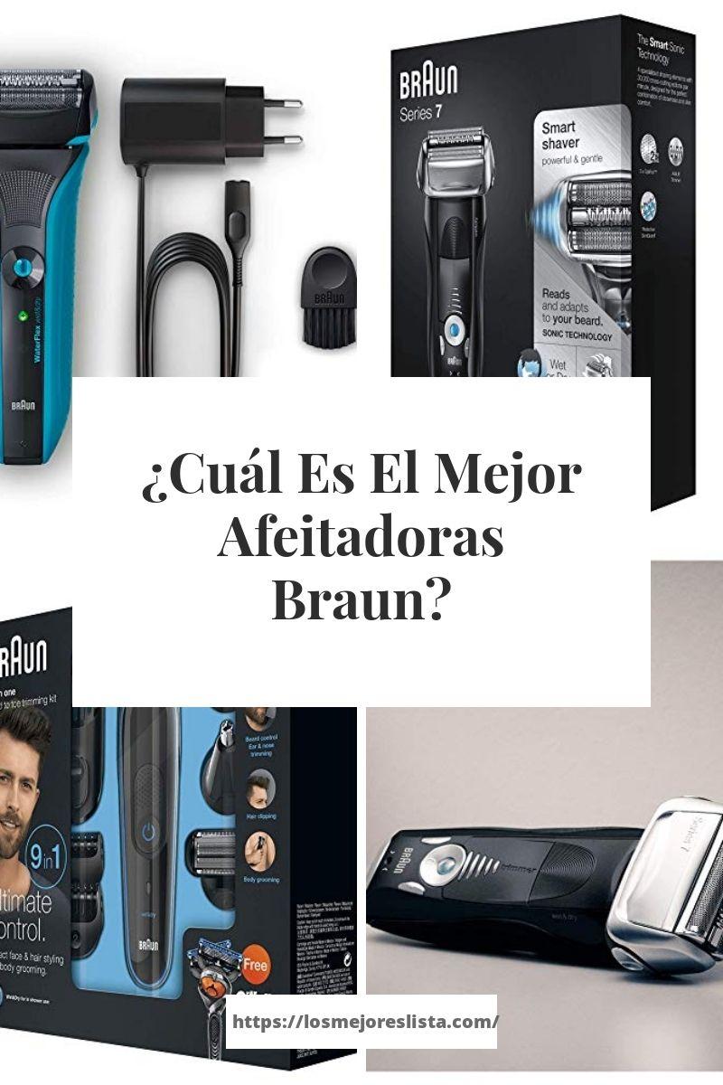 Cuál Es El Mejor Afeitadoras Braun Que Te Mejores Compras Maquina De Afeitar Barba