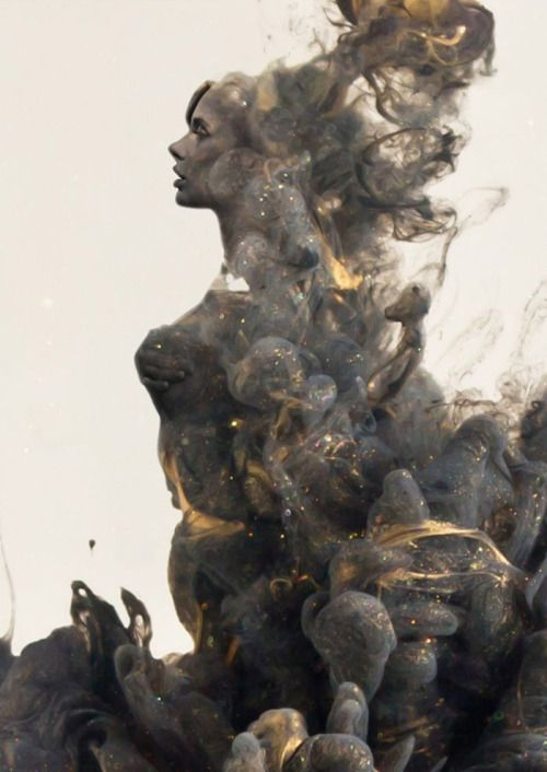 Angel of Smoke and Gold by Chris Slabber