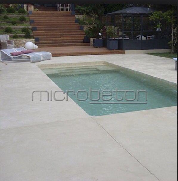 Piscina suelo microcemento piscinas pinterest suelo for Cemento pulido exterior