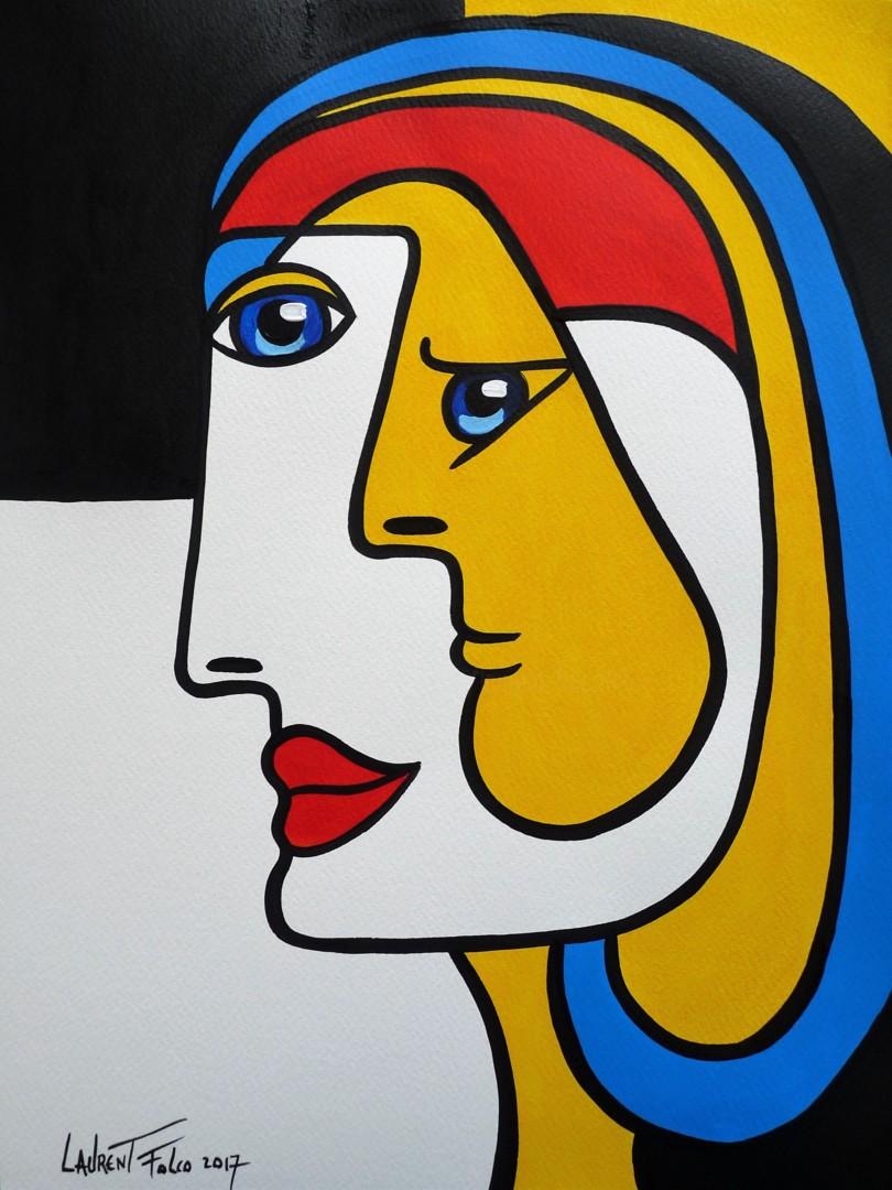 نقاشي كوبيسم مدرن