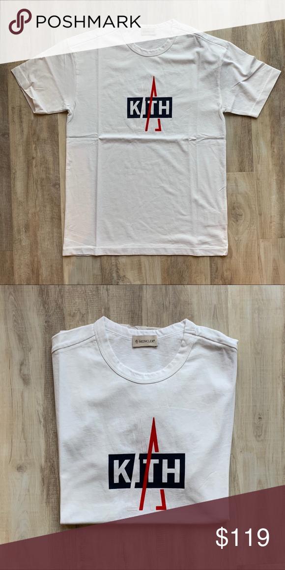 a27cbdeabf88 Kith x Moncler White Logo Shirt Preowned