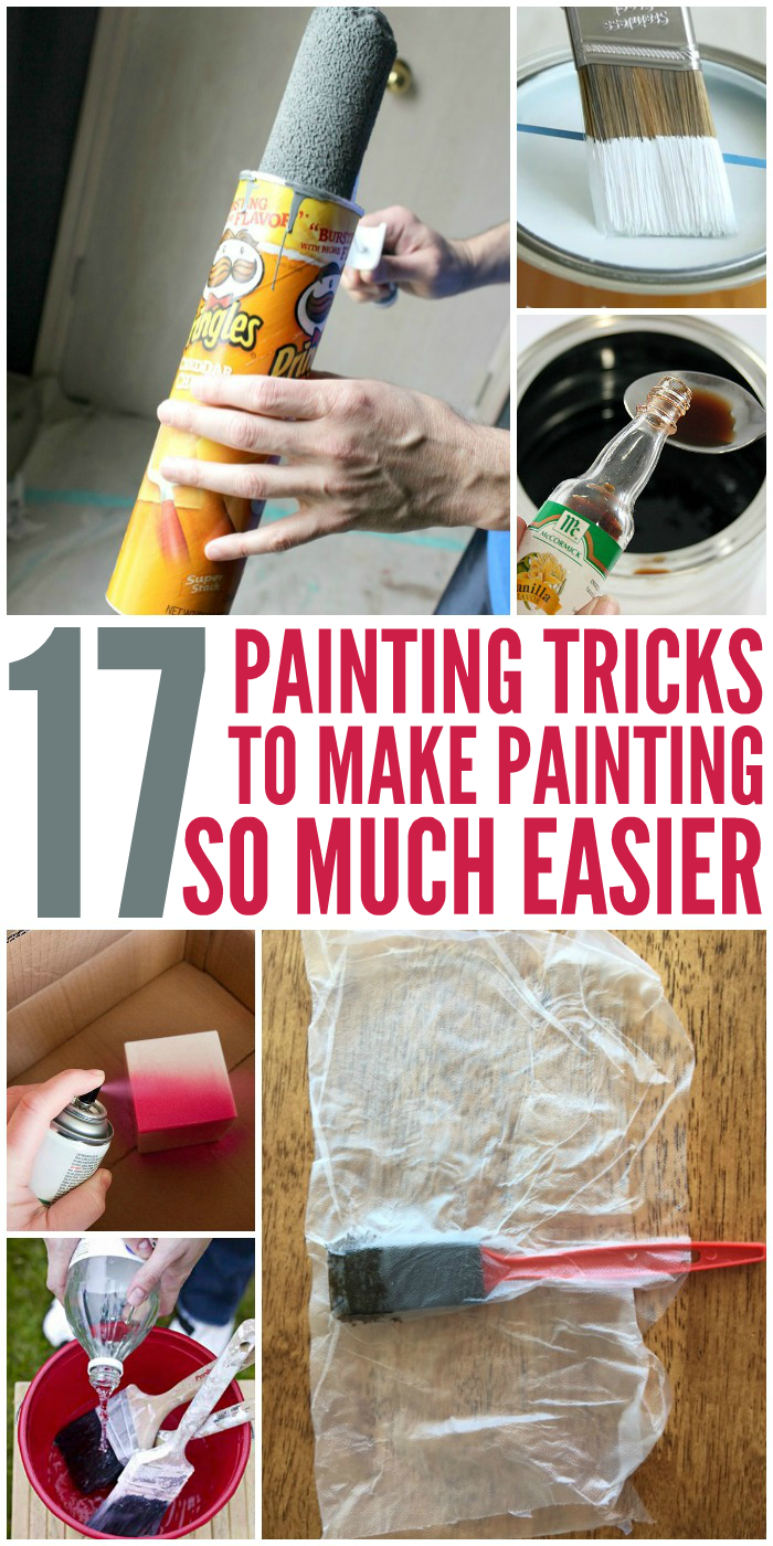 17 painting tricks that make painting easier diy home - Interior painting tips and tricks ...