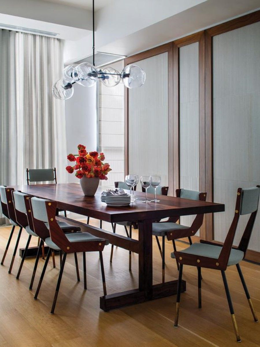 Image Result For Mid Century Modern Dining Table Modern Dining Chairs, Modern  Dining Room Lighting