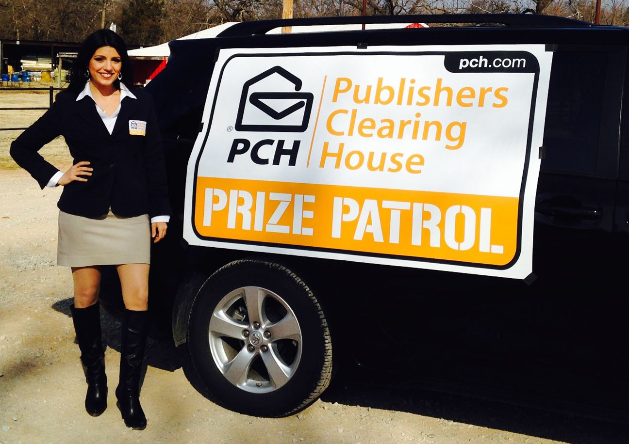 New Year - New Look: PCH Upgrades their Prize Patrol Van Sign