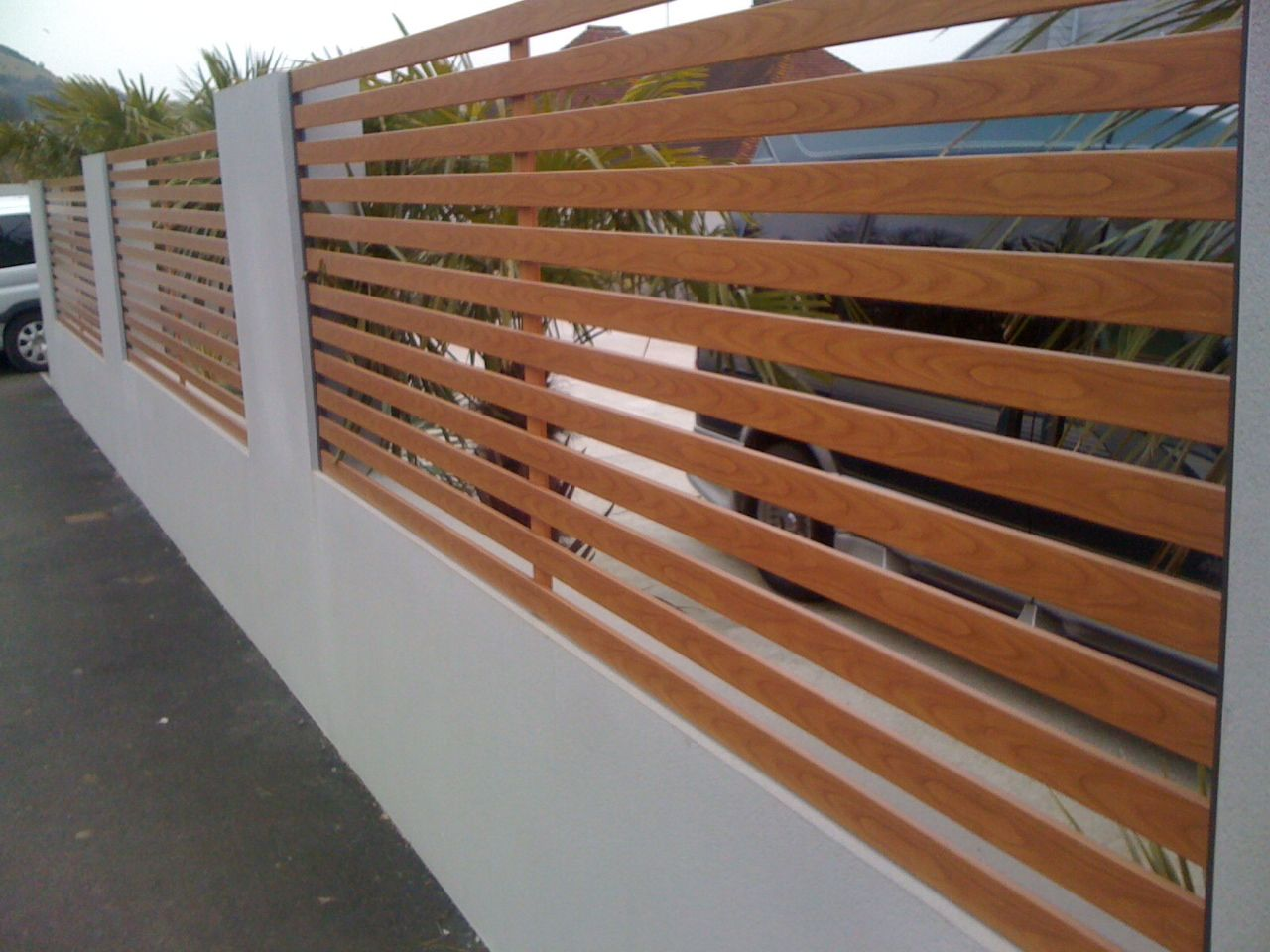 Stahlzaun How Stylish Is This Aluminium Fencing Aluminum Steel Fences