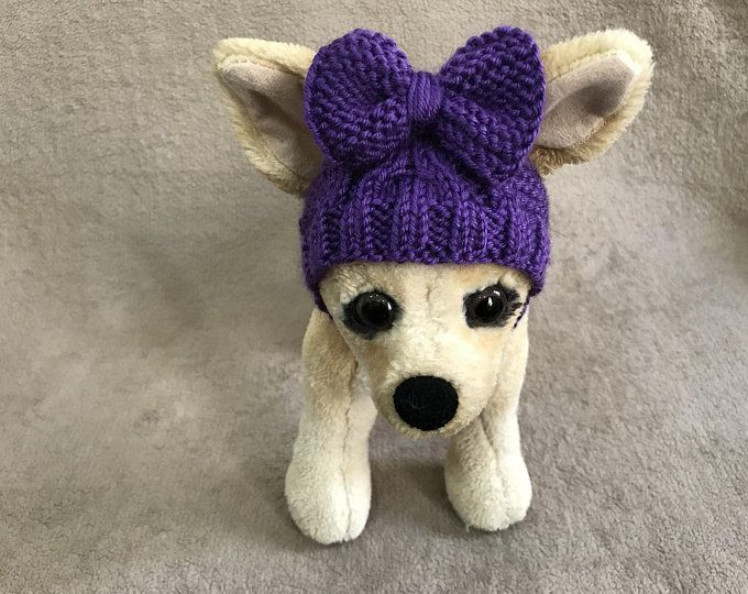 Pet Clothes Apparel Winter Outfit Knit Dog Hat for Small ...