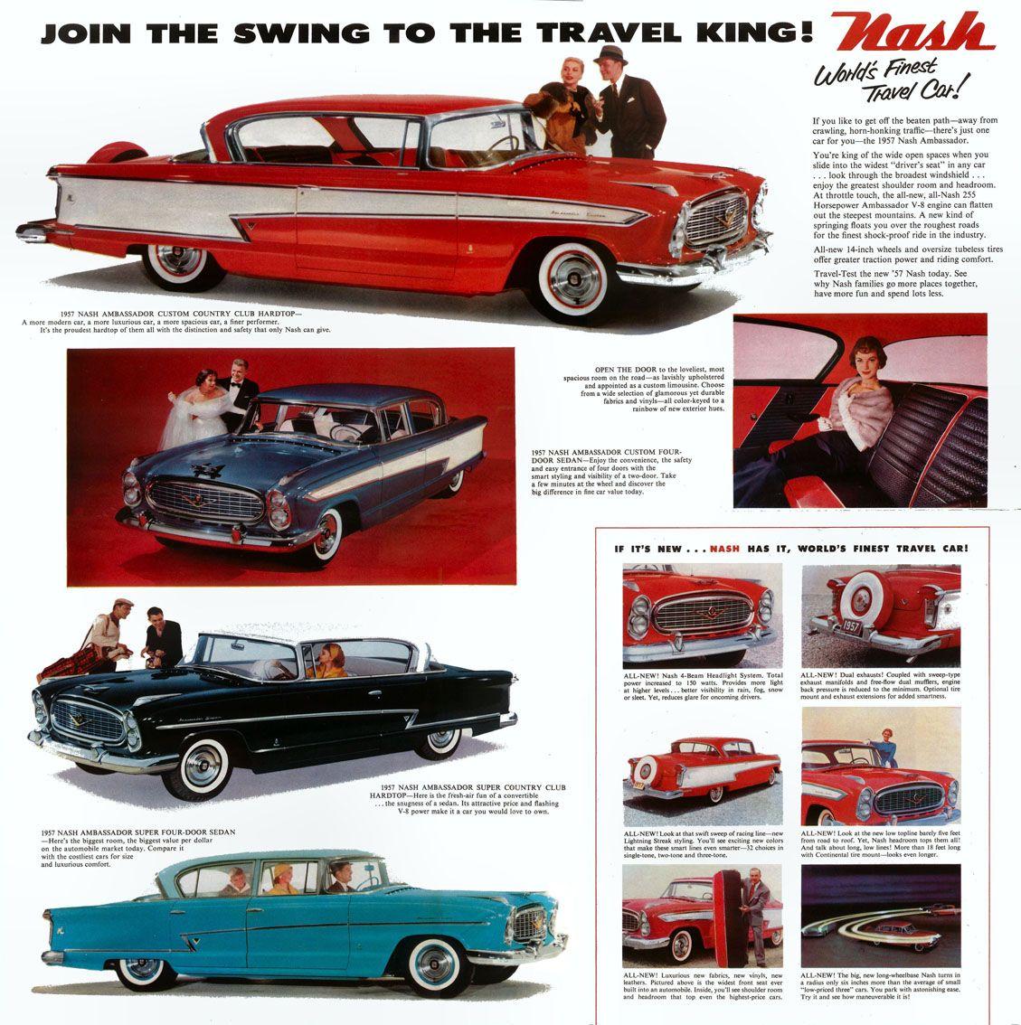 1957 Nash | Nash ..Car Brochures | Pinterest | Cars, Vehicle and ...