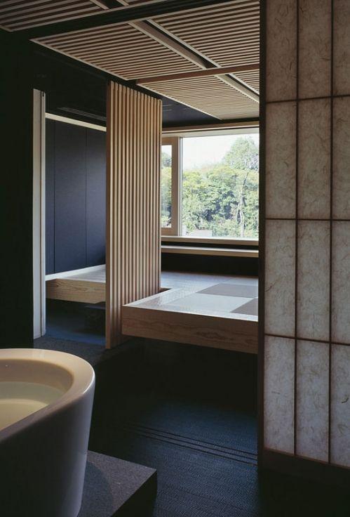 Minimalist House 85 Design: Japanese Bathroom. Tokyo (KEN一級建築士事務所 / 甲村健一 プロジェクト 白金の家 東京 / 日本, 2010) (With Images)
