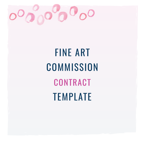 Fine Art CommissionCustom Painting Contract Template