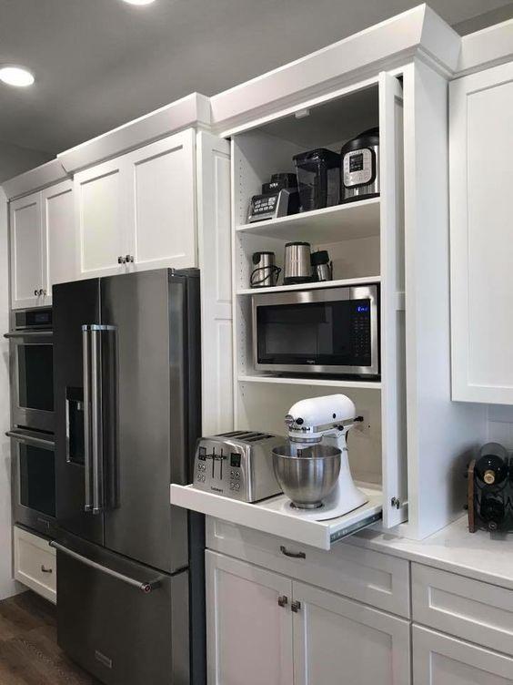 주방 수납 기능을 높이는 다양한 방법 부엌 꾸미기 모던 부엌 부엌 디자인