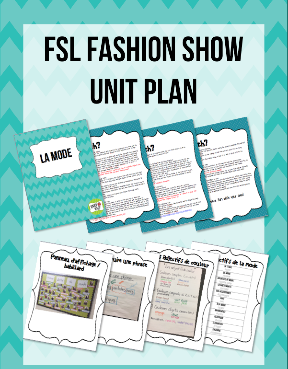 Fun Engaging And Interactive French Unit Plan That