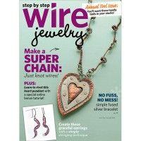 Step by Step Wire Jewelry June/July 2013 Digital Edition   InterweaveStore.com