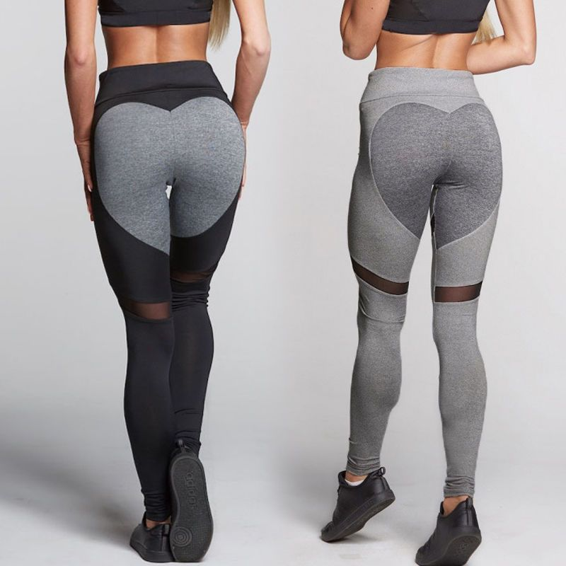 Gym Womens Yoga Pants Sports Leggings Athletic Clothes Fitness Running S283 3cc7aec50a5