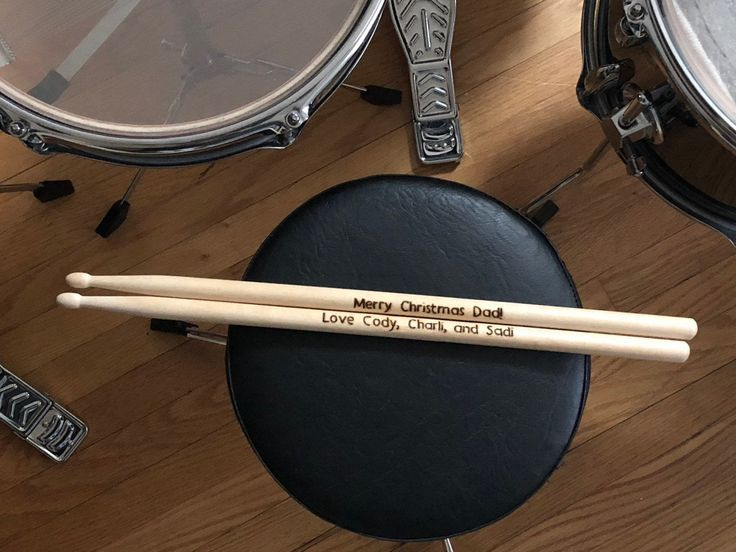 Custom drumsticks fathers day gift for husband