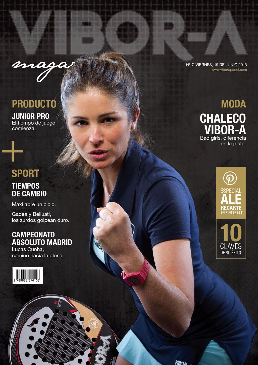 Alejandra Recarte en portada.