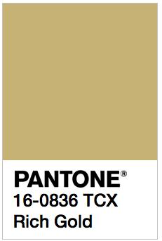 PANTONE 16 0836 TCX Rich Gold Color Values RGB 200 178 115 HEC HTML C8B273