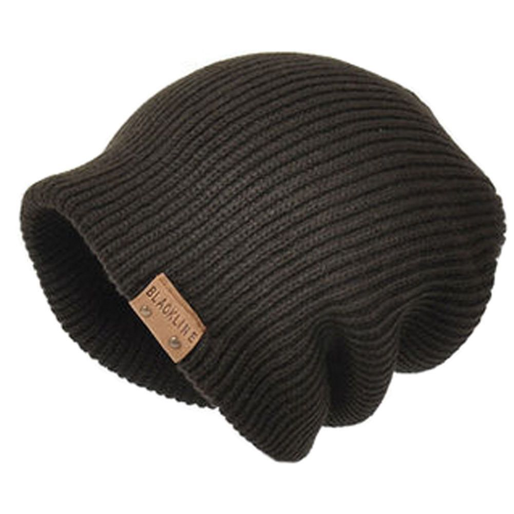 Unisex Beanie Beanies Hat Skully Hat Knit Winter Hats, Coffee