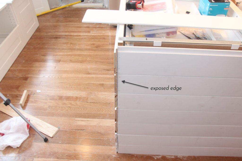 How To Build An Island Using Ikea, Diy Kitchen Island Using Ikea Cabinets