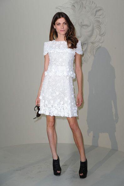 Elisa Sednaoui in Chanel