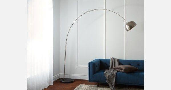 Black Floor Lamp 208cm Height 82 Quot Structube Arc
