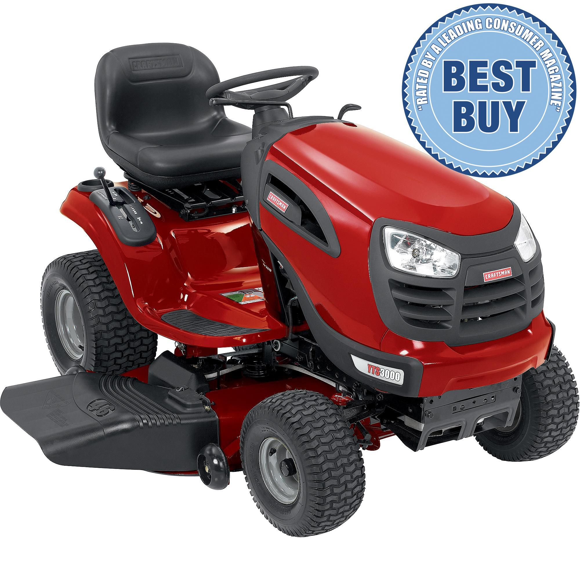 Riding Lawn Mower Spec Craftsman Yt 3000 46 Briggs And Stratton 21 Hp Gas