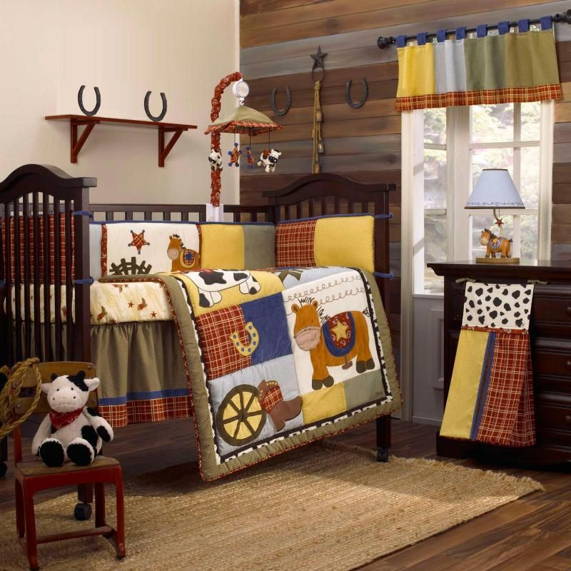 Boy Nursery Bedding On The Bananafish Round Up Baby