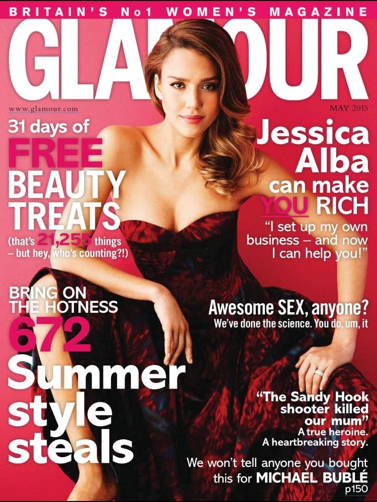 Jessica Alba Glamour