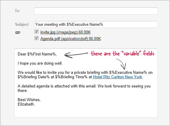 how to send personalized emails with mail merge in gmail