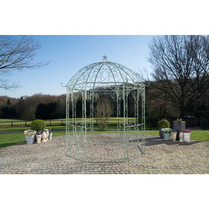 Arche à rosiers ronde avec pavillon Leila – LORAVILLE