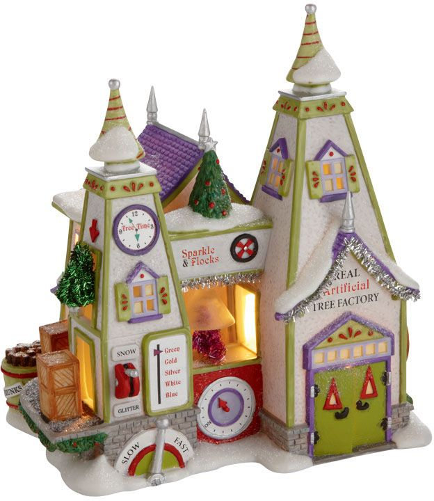 North Pole Village by Department 56. Cute!
