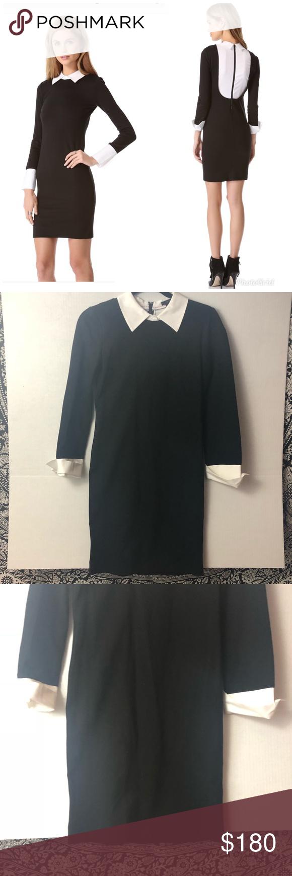 Nwot Alice Olivia Courtnee Collar Dress Collar Dress Dresses Timeless Fashion [ 1740 x 580 Pixel ]