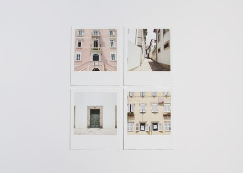 Windows and doors polaroid prints