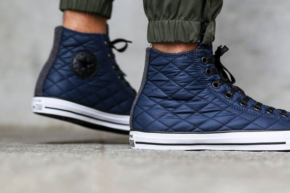 The Converse All Star Quilted | Kicks | Pinterest | Star quilts ... : quilted converse - Adamdwight.com