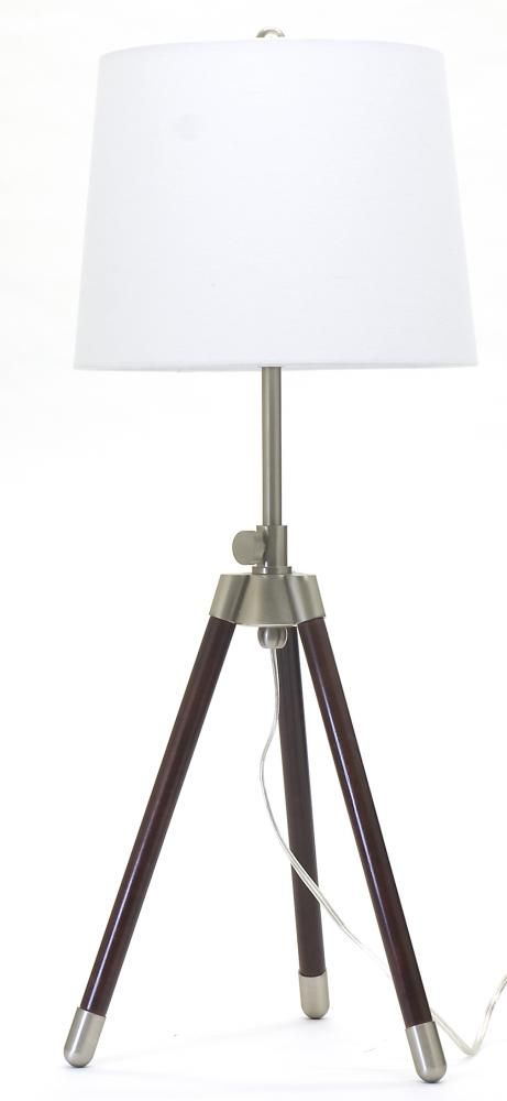 One Light Satin Nickel Table L&  7AC8   Haroldu0027s Lighting  sc 1 st  Pinterest & One Light Satin Nickel Table Lamp : 7AC8   Haroldu0027s Lighting ... azcodes.com