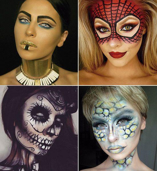 propuestas de maquillaje para halloween - Maquillaje De Halloween