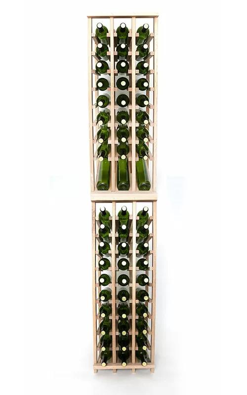 Lurmont 60 Bottle Solid Wood Floor Wine Bottle Rack Bottle Rack Wine Bottle Rack Wine Bottle