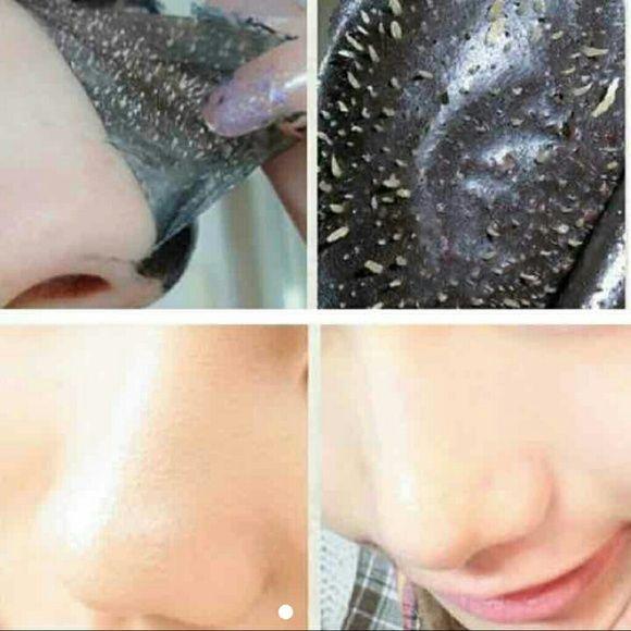 5x Blackhead Pore Liquid Mask Packet New 5 packets Black