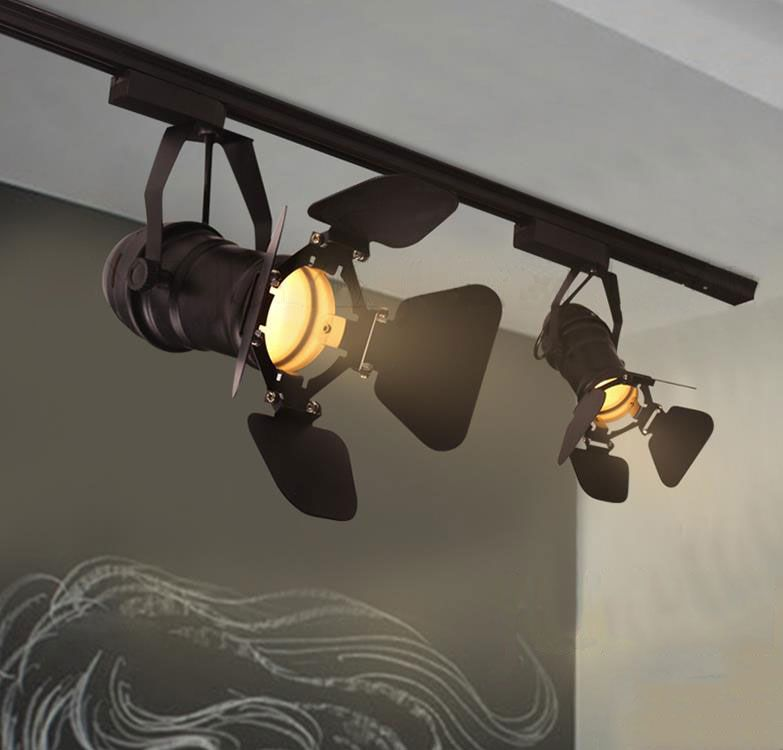 Theater Tracklight Barn Door Can Use Both Led For Projected