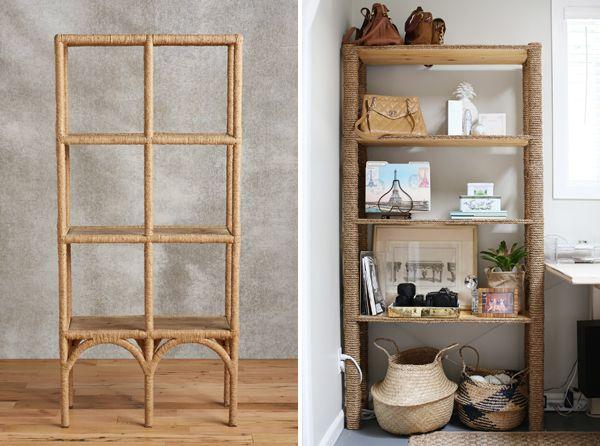 Diy Ikea Hack Rope Bookshelf