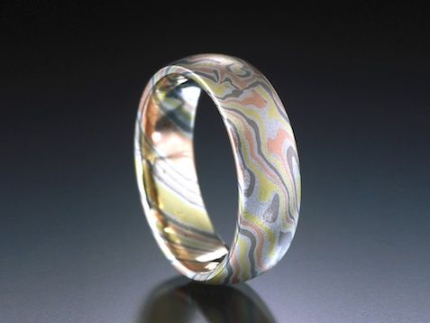 Mokume Gane Rings And Jewelry From James Binnion Metal Arts