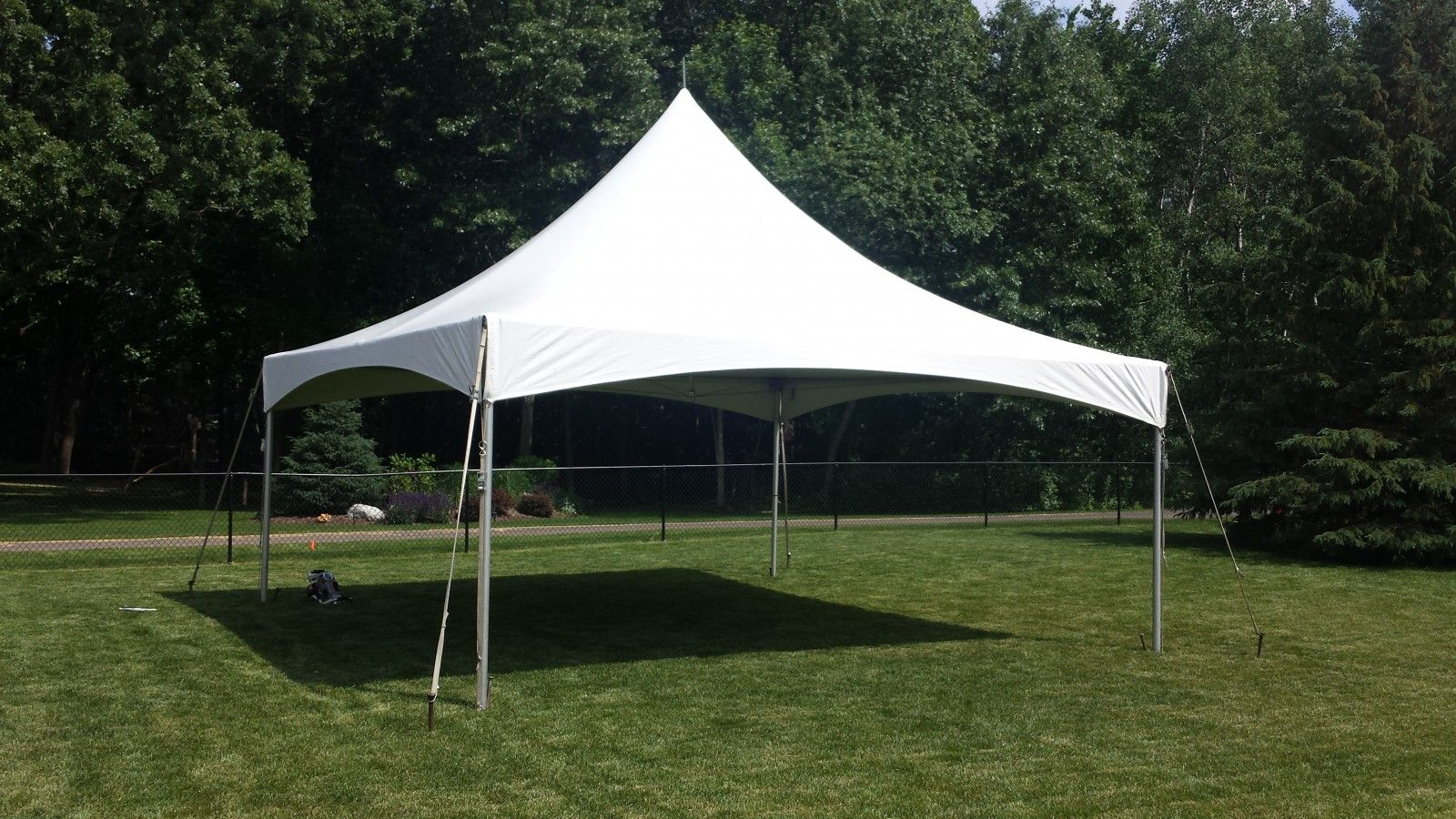 High Peak Cable Canopy 20 X 20 Tent Broadway Party Tent Rental Party Tent Tent Rentals Party Tent Rentals
