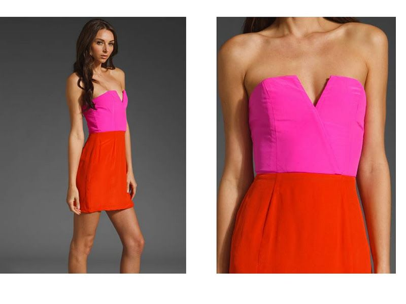 the long and short of it: Pink and Red: Dress Lust | Red and pink ...