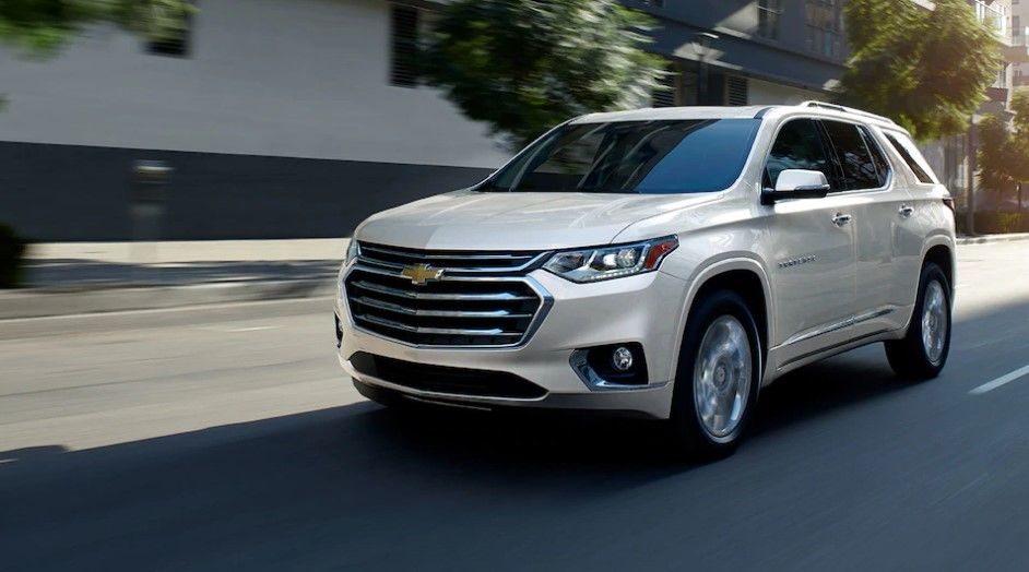 2020 Chevy Traverse Changes Features And Interior Chevrolet