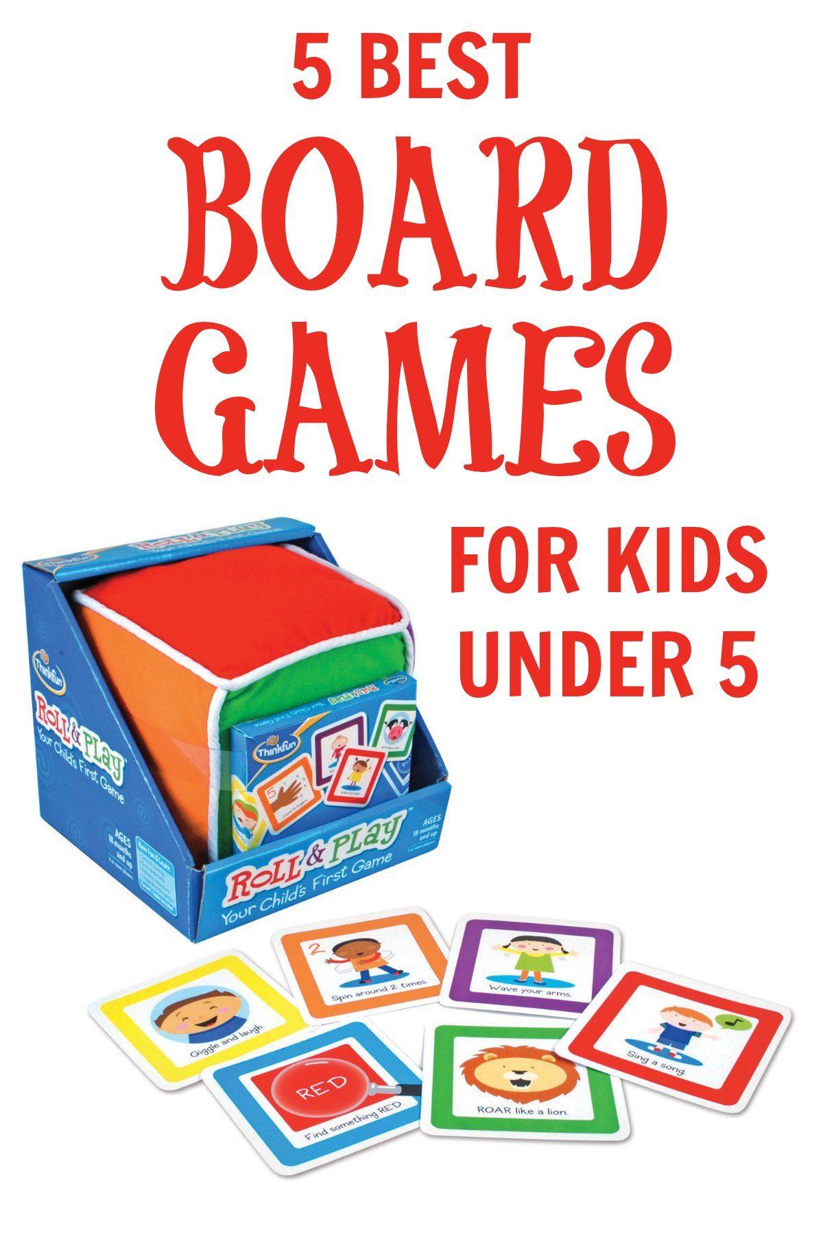 5 Best (tried & true!) Board Games for Kids Under 5