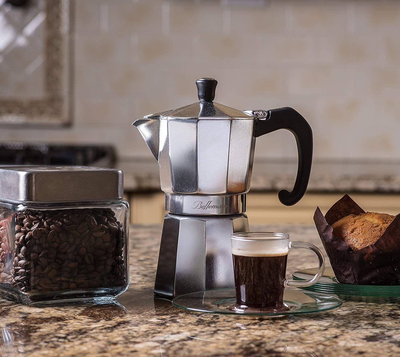 Bellemain 6cup stovetop espresso maker moka